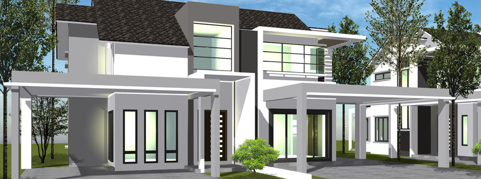 Semi Detached House Plans Malaysia House Plans